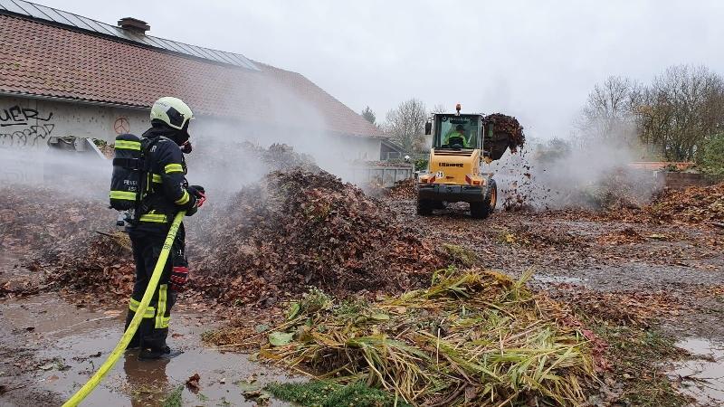 B1 - Feuer/Rauch Unrat/Kompost