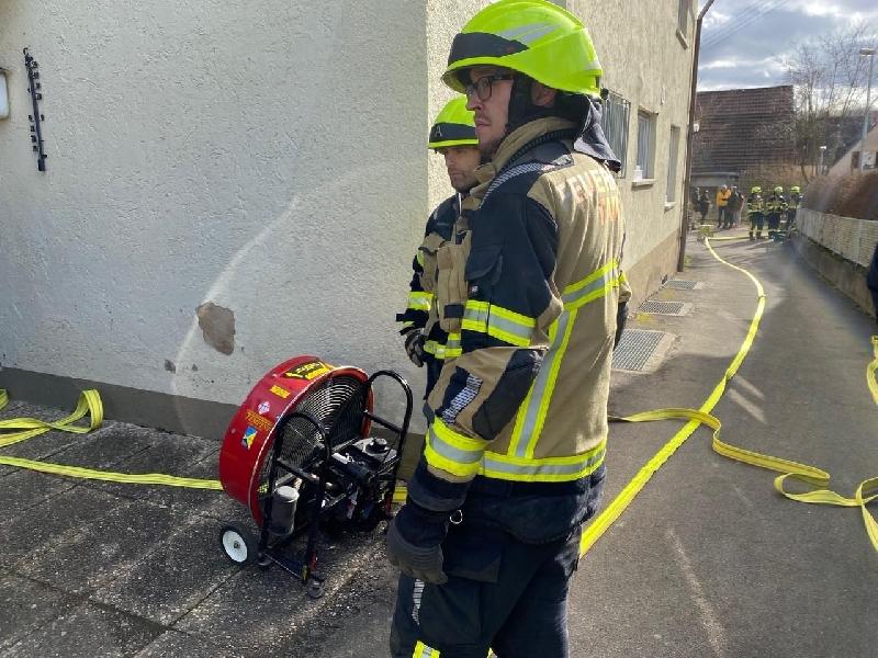 B3 - Feuer/Rauch Gebäude