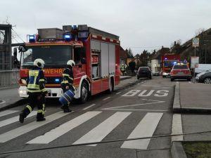 G1 - Austritt Diesel/Öl Verkehrsunfall